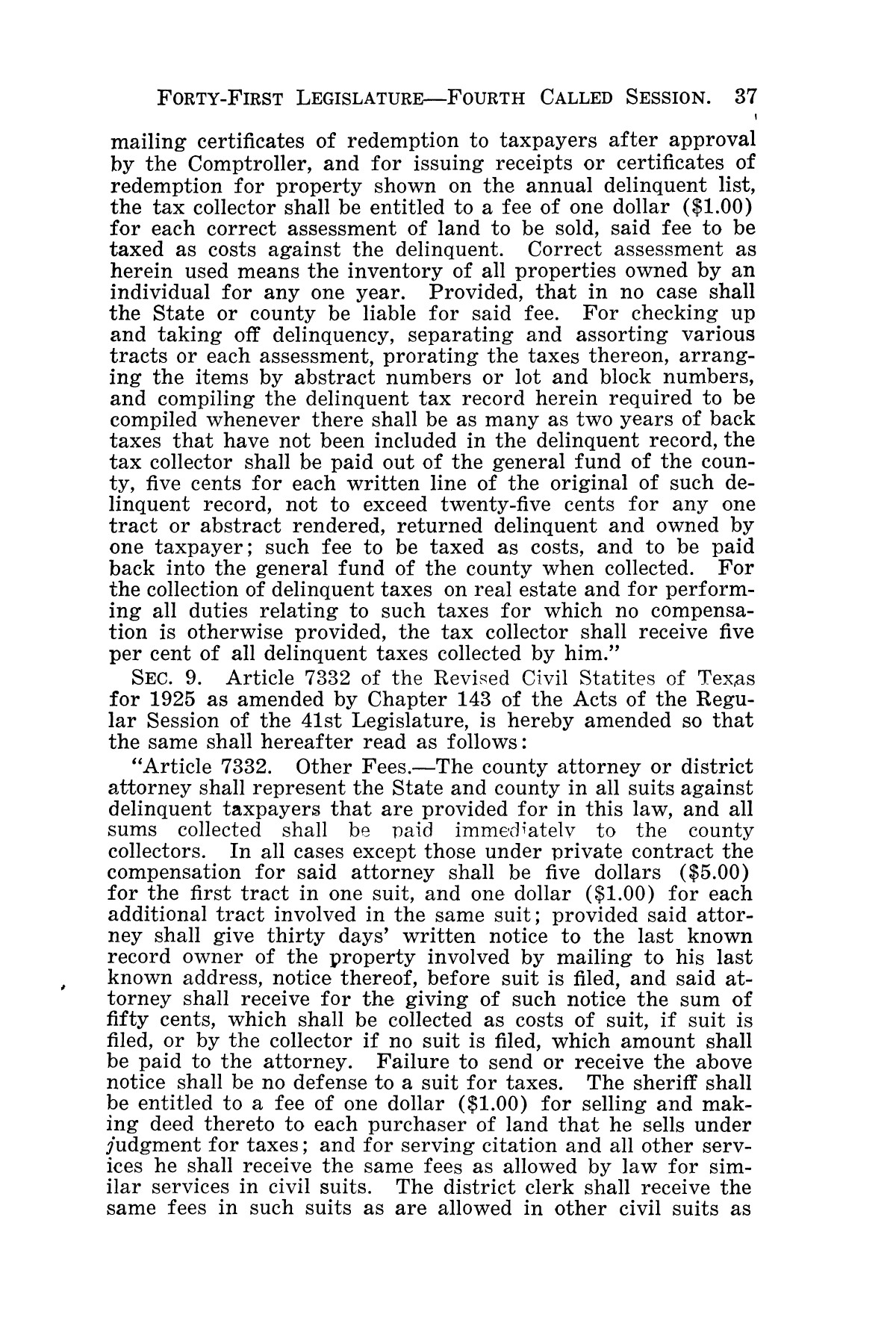The Laws of Texas, 1929-1931 [Volume 27]                                                                                                      [Sequence #]: 49 of 1943