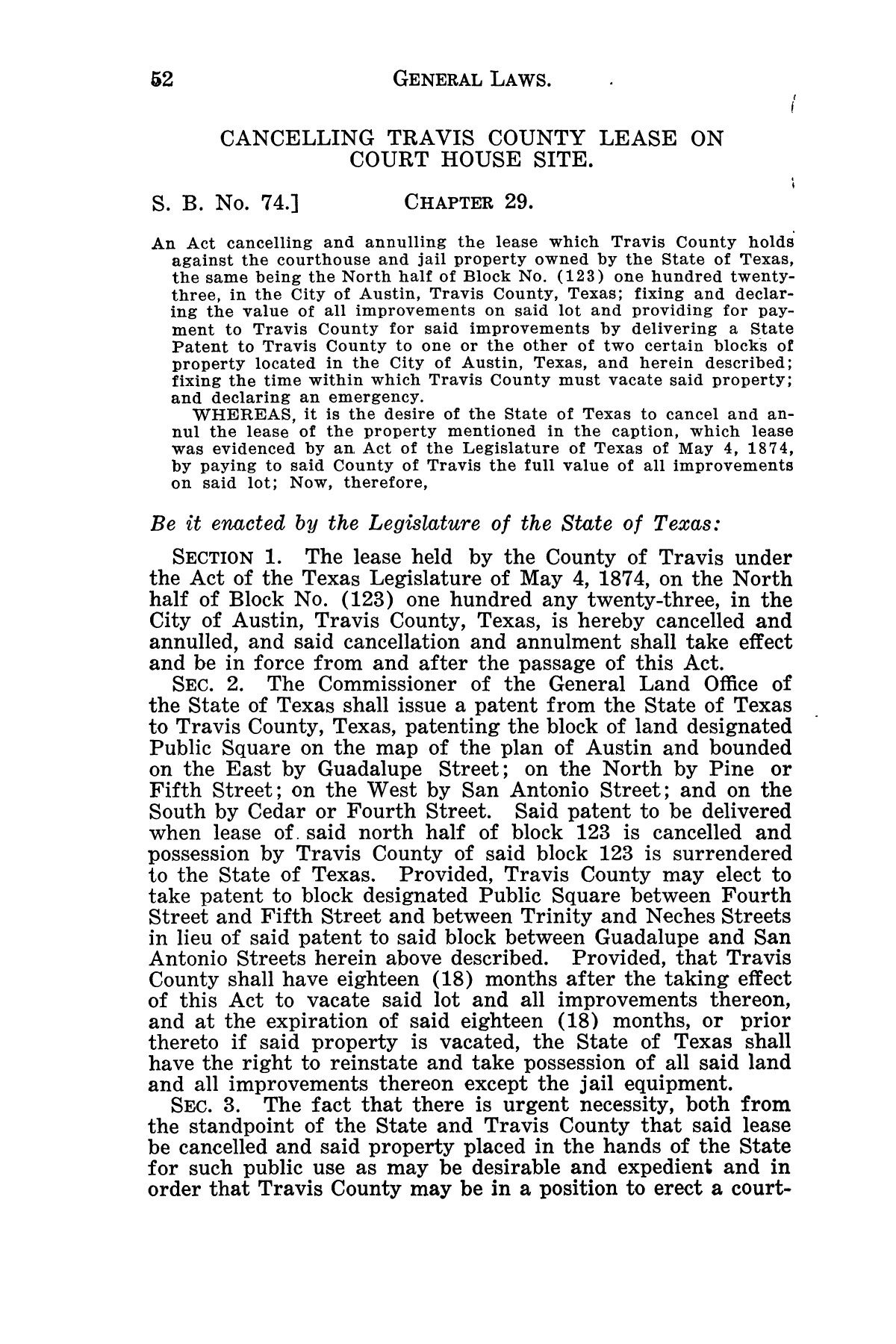 The Laws of Texas, 1929-1931 [Volume 27]                                                                                                      [Sequence #]: 64 of 1943