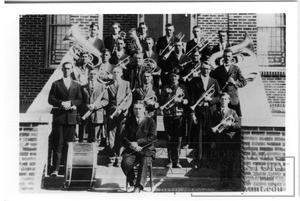 Primary view of object titled 'Hurnville German Baptist Church Band'.