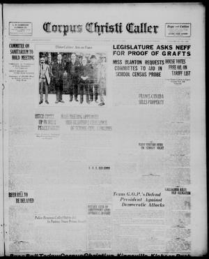 Primary view of object titled 'Corpus Christi Caller (Corpus Christi, Tex.), Vol. 23, No. 148, Ed. 1, Tuesday, July 19, 1921'.