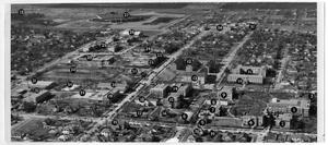 Primary view of object titled '[Aerial Photograph of the North Texas State College Campus, 1953]'.