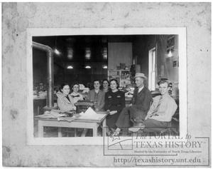 Primary view of object titled 'Clay County Agent's Office'.