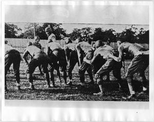 [North Texas Second String Team Plays Durant Normal, 1920]