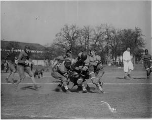 Primary view of object titled '[North Texas vs. Trinity Football Game, 1925]'.