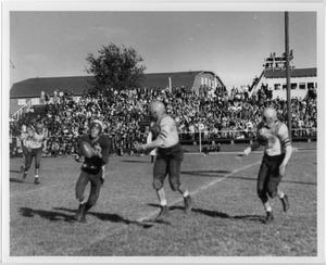 Primary view of object titled '[North Texas vs. East Texas Football Game, 1942]'.