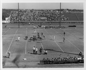 Primary view of object titled '[North Texas vs. Austin Football Game, 1942]'.