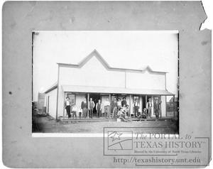 Primary view of object titled 'Autry-Gates Store'.