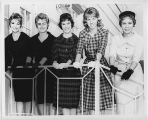 Primary view of object titled '[1960 North Texas Homecoming Queen candidates #2]'.