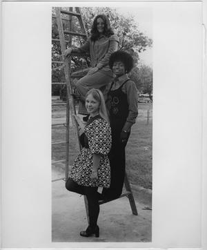 Primary view of [1972 North Texas Homecoming Queen candidates #2]