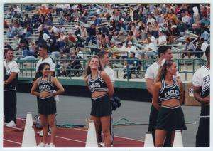 [University of North Texas  Cheerleaders, 2001 ]