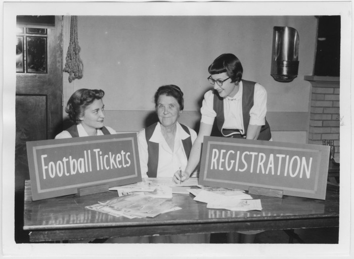 North Texas Green Jackets Working at an Event, 1956] - The Portal ...