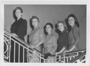 [1957 North Texas Relay Queen candidates #1]