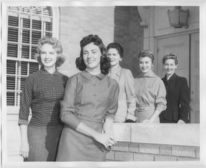 Primary view of object titled '[1957 North Texas Relay Queen candidates #2]'.