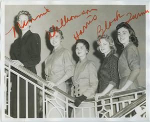 Primary view of object titled '[1957 North Texas Relay Queen candidates #4]'.