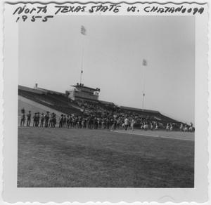 [1955 North Texas State College Homecoming Game]
