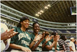 Primary view of [North Texas Football Spectators, 1995]