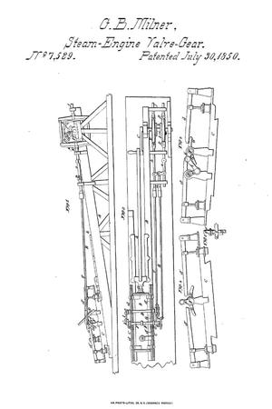 Primary view of object titled 'Valve-Gear for Steam-Engines.'.