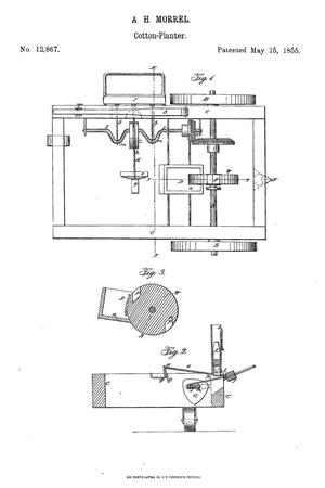 Primary view of object titled 'Improvement in Cotton-Seed Planters.'.