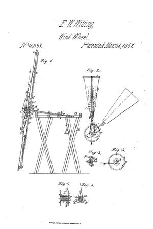 Primary view of object titled 'Improved Mode of Regulating the Velocity and Furling the Sails of Wind-Wheels.'.