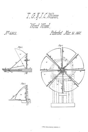 Improved Method of Feathering the Sails of Vanes of Windmills.