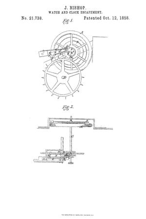 Escapement for Timekeepers.