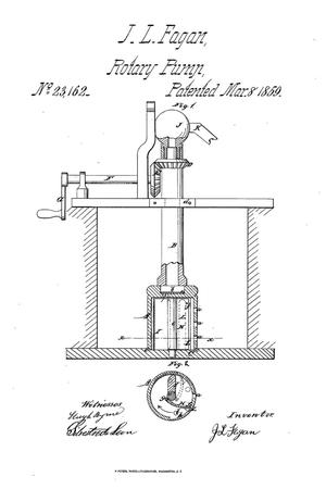 Primary view of object titled 'Rotary Pump.'.