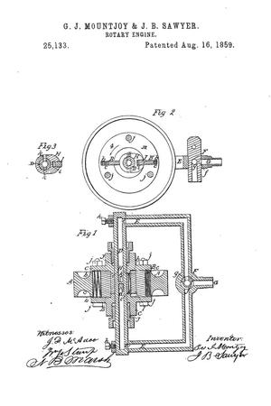 Primary view of object titled 'Rotary Steam-Engine.'.