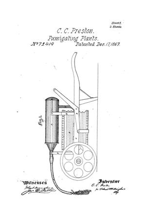 Primary view of object titled 'Improved Apparatus for Fumigating Plants.'.