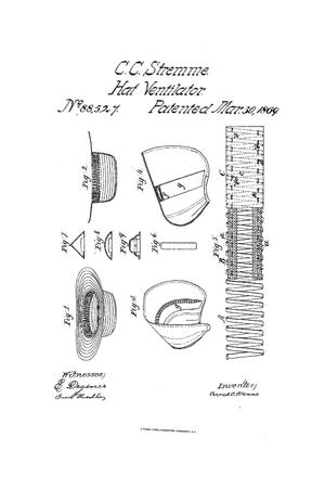 Primary view of object titled 'Improvement in Hat-Ventilators.'.