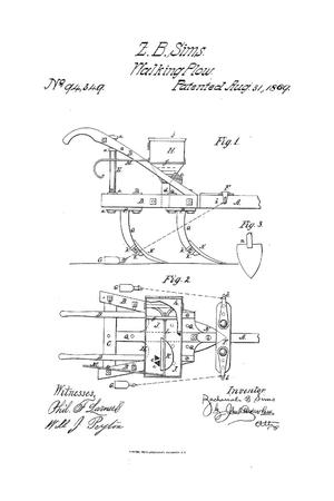 Primary view of object titled 'Improvement in Cotton-Plow and Planter'.