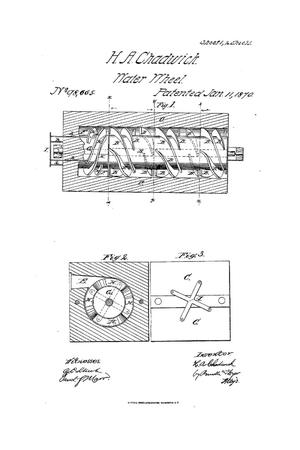 Primary view of object titled 'Improvement in Turbine Water-Wheels.'.