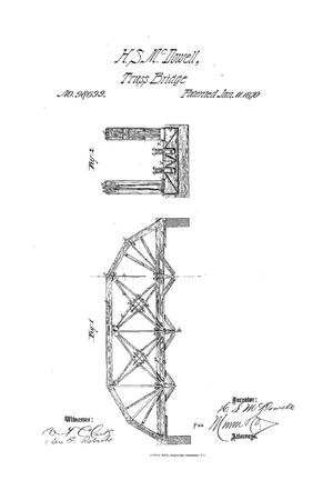 Primary view of object titled 'Improved Bridge.'.