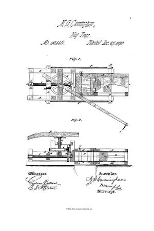 Primary view of object titled 'Improvement in Presses for Hay, Cotton, Etc.'.