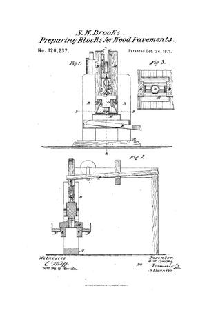 Primary view of object titled 'Improvements in Machines for Making Paving-Blocks.'.