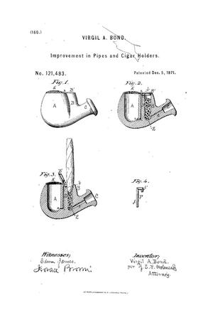 Primary view of object titled 'Improvements in Pipes and Cigar-Holders.'.