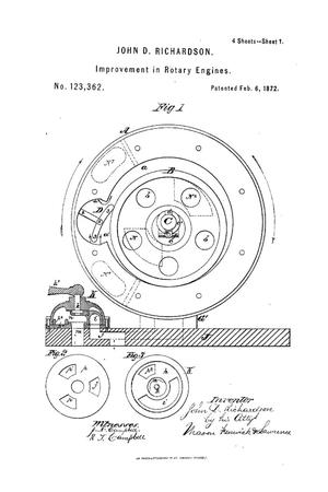 Primary view of object titled 'Improvement in Rotary Engines.'.