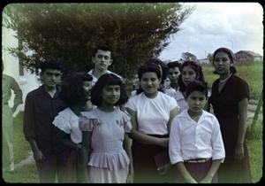 Primary view of object titled '[Photograph of Young People]'.