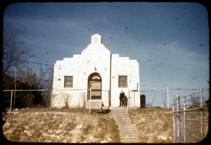 Primary view of object titled '[Photograph of a Mexican Presbyterian Church]'.