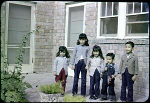Primary view of object titled '[Photograph of Olivares Children]'.
