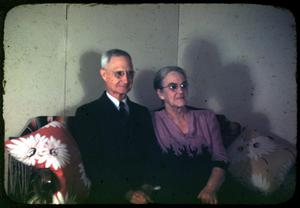 [Photograph of Dr. Rev. R.D. Campbell and Wife]