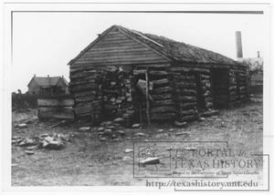 Primary view of object titled '[Henrietta First School House]'.