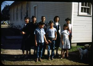 Primary view of object titled '[Photograph of Hernandez Family]'.