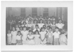 Primary view of object titled '[Children in church]'.