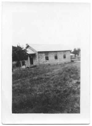 Primary view of object titled '[Building in Bay City]'.