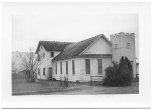 Primary view of object titled '[Beeville Mexican Presbyterian Church]'.