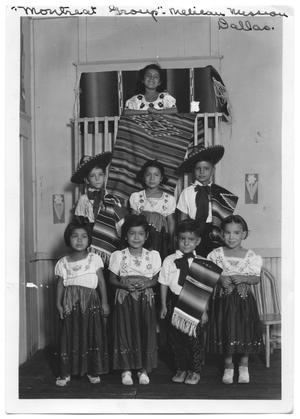 Primary view of object titled '[Children in Mexican Costume]'.