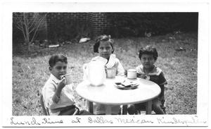 Primary view of object titled '[Lunchtime at Dallas Mexican Kindergarten]'.
