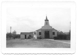 Primary view of object titled '[Anderson Memorial Church on Carlisle Street Dallas]'.