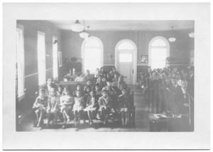 Primary view of object titled '[Children at a Church Service #1]'.