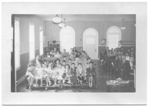 Primary view of object titled '[Children at a Church Service #2]'.